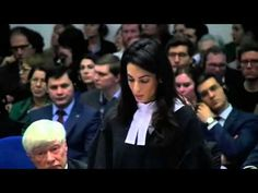 FULL SPEECH: Amal Clooney on legal team in EHCR Armenian genocide case - YouTube