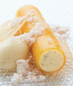En opdateret polarstang a la Wassim er en dessert der kræver både tid og håndelag, men ananassorbet og bavarois er også skønne som selvtændige desserter.