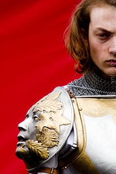 White Jacket by kingsfool, via Flickr - check out the face on the shoulder plate