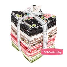 Olive's Flower Market Fat Quarter Bundle Reservation <br/>Lella Boutique for Moda Fabrics