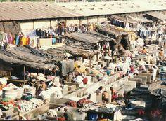 Mumbai, India - worlds largest laundromat (thank you, Samir)