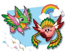 Kirby「ウィングウィング!」/「桜餅」のイラスト [pixiv]