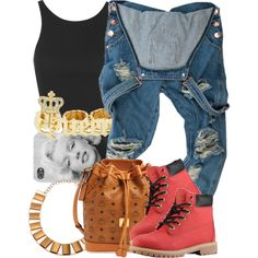 A fashion look from May 2015 featuring Topshop tops and MCM shoulder bags. Browse and shop related looks. Dope Fashion, Fashion Killa, Urban Fashion, Teen Fashion, Fashion Outfits, Disney Fashion, Cute Swag Outfits, Dope Outfits, Fall Outfits
