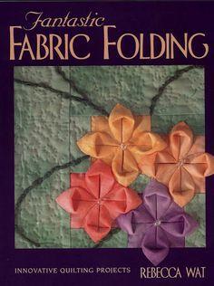 Fabric Folding- A neat idea! Adds depth