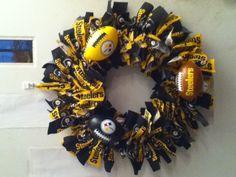 Pittsburgh Steelers Wreath.