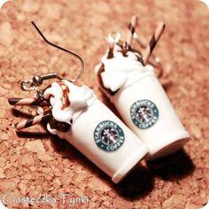 ♦♢\\ / ´¯`•.•.¸¸.•´¯`•.¸¸.♦♢ :Ο0♦♢♦♢ •.¸¸.•´¯`.•.¸¸.•´¯`♦♢ ♦♢ // \ •.¸¸.•´¯`•.¸¸¸.•´¯`♦♢Jewelry Lover starbucks coffee earrings
