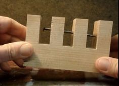 I love brain teasers and wood-based puzzles and this is a good one that you can easily make yourself. Basically, all you need is a chunk of pine, a nail, and some boiling water (oh, and a saw and d...