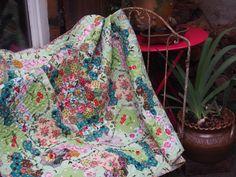 Patch hexagones - Nadine Levé - Journal Textile -