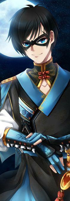 Oriental Style Dick Grayson aka Nightwing