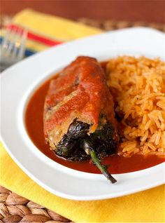 Chile Rellenos! Mum's favourite, must learn to make them.