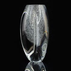 TIMO SARPANEVA - Glass sculpture for Iittala, 1984, C1004, Finland.   [h. 26 cm] Glass Design, Design Art, Spirited Art, Glass Ball, Stained Glass Windows, Pop Art, Sculptures, Art Deco, Pottery