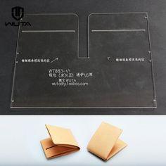 акрил оргстекло Leathercraft узор бумажник чехол кожаный шаблон