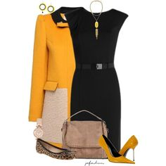 Two Shoes, One Outfit, created by jafashions on Polyvore