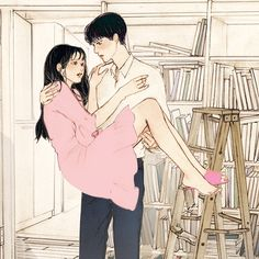 "6,914 Me gusta, 26 comentarios - 살구 (@salgoolulu) en Instagram: ""엔젤링 작가님의 '운명의 남자' 북팔에서 연재중입니다~!✨ #일러스트#illust#illustrator#イラスト #少年#少女 #lovely#girl#boy…"""