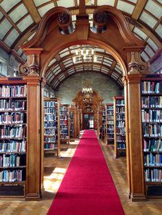 Welsh library at Bangor University North Wales