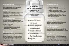 Desventajas de la alimentación con fórmula... De la página Duérmete Hannibal en Facebook https://www.facebook.com/duermetehannibal