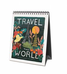 Rifle Paper Co. - 2016 Travel The World - Features 12 Original Illustrations