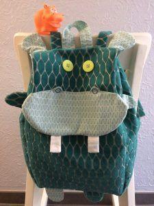 Tuto sac à dos original - hippopotame