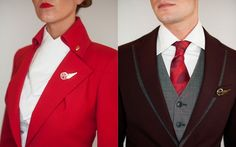 Virgin Atlantic : Vivienne Westwood-designed uniforms