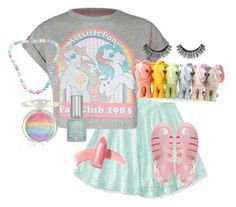 """Fan club 1983"" by citykitty1234 ❤ liked on Polyvore featuring Aéropostale, My Little Pony, Viva La Diva, Elizabeth Arden, Sephora Collection and JuJu"