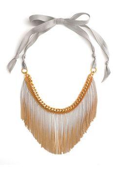 Juicy Couture 'Wanderlust' Gradient Fringe Necklace | Nordstrom