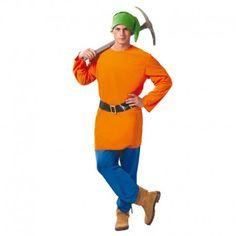 Disfraces Disney hombre   Disfraz de enanito. Compuesto de casaca, pantalón, gorro y cinturón. Talla M/L. 18,95€ #enanito #blancanieves #disfrazenanito #disfraz #disney #disfraces #disfrazdisney