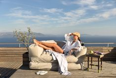 #exterior #outdoor #beanbags #beanbag #sofa #design #madeingreece #pouf #poofomania