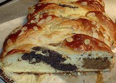 Trojbarevný cop 2 recept - TopRecepty.cz Bread, Food, Brot, Essen, Baking, Meals, Breads, Buns, Yemek