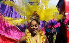 Notting Hill Carnival Exotic dancers, vibrant music and the smell of Caribbean food livened up London today as Europe's biggest street festival hit the capital