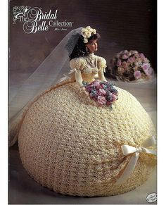 The Bridal Belle Collection Miss June Fashion Doll  Crochet Pattern  Annies Attic via Etsy