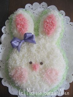 Too Cute Bunny Cake