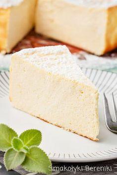 Sernik wiedeński Polish Recipes, Polish Food, Mini Cheesecakes, Cookie Desserts, No Bake Cake, Vanilla Cake, Cake Recipes, Food And Drink, Sweets