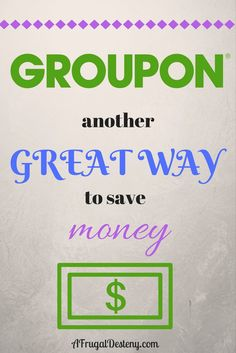 Frugality is the name of the game and I'm playing to win! Time after time, Groupon helps me succeed in my money saving goals! Here's how!