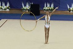 Alexandra Soldatova (RUS) hoop - Russian Championships Penza 2014