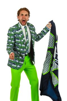 Pre-Order - The Seattle Seahawks Suit Jacket - Delivery by October 2016
