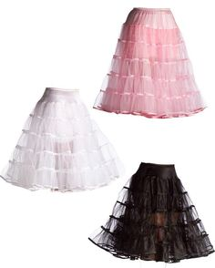 Deluxe 27-inch Petticoat - More Colors - Candy Apple Costumes - Poodle Skirts