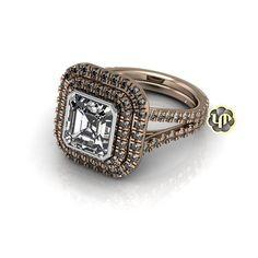 Halo Asscher Cut Engagement Ring by #PeterKdesigns  #PeterKdesigns #customjewelrydesign #jewelry #designer #jewelrydesigner #jewelrydesign #California #Losangeles #dtla  #jewelrygram #highjewelry #instajewels #gold #rosegold #gems #diamond #diamonds #highfashion #fashion #luxurylifestyle #luxury #engagementrings #engagement #weddingseason #wedding #TheBrideList #love #beautiful #bridetobe
