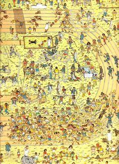 El primer libro de Wally completo: ¿Dónde está Wally? Wheres Waldo, Classroom, Parks, Book, Class Room, Wheres Wally
