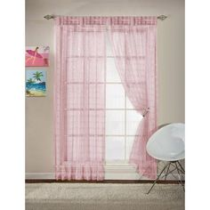 your zone glitz curtain panel - Walmart.com ((RyJo))