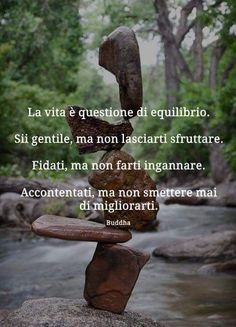 Words Quotes, Me Quotes, Italian Quotes, Meditation Quotes, Yoga Meditation, Osho, Positive Vibes, Karma, Quotations