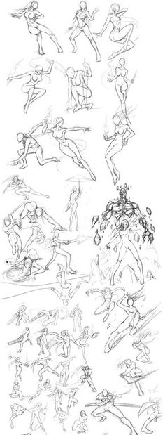 Female warrior designs. Wow! I wish I could draw like this...