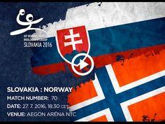 SLOVAKIA : NORWAY Bratislava, World Championship, Norway, Youth, Calm, Artwork, Handball, Work Of Art, Auguste Rodin Artwork