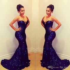 2014 Hot Sequins Blingbling Sexy Mermaid Evening Dresses Evening Dresses | Buy Wholesale On Line Direct from China