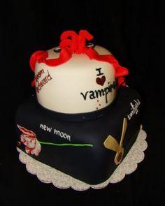Twilight cake - vampire all the way April Callon ;)