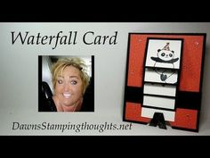 Pandas Waterfall card video - Dawn's Stamping Thoughts