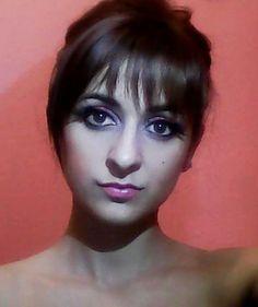 pink lips, makeup