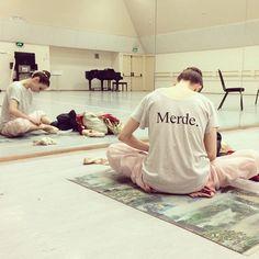 Maria Kochetkova in her Merde shirt Ballet Wear, Ballet Class, Dance Class, Ballet Dance, Ballet Style, Ballet Inspired Fashion, Ballet Fashion, Tutu Skirt Women, Ballet Clothes