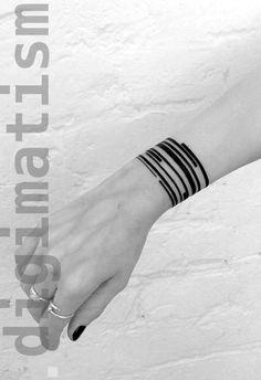 digimatism — suprematic tattoos by Stanislaw Wilczynski. Wrist Tattoos, Arm Tattoo, Body Art Tattoos, Small Tattoos, Tatoos, Thigh Band Tattoo, Armband Tattoo, Piercings, Piercing Tattoo
