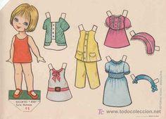 RECORTABLES BABY EDITORIAL ROMA, SERIE MUÑECAS Nº11 - Foto 1