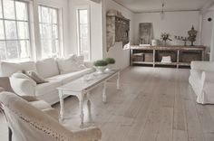 Shabby and Charme: Vintage style per una bella casa norvegese
